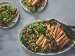 Pâtes au pesto d'épinards, brocoli et filets Fish Free Fillets - Lemon & Pepper