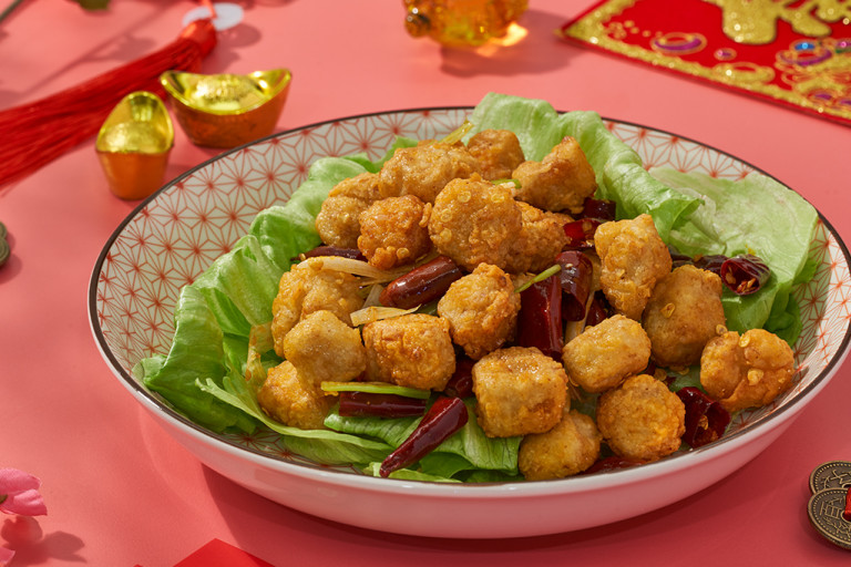 Spicy Auspicious Szechuan Chilli Chicken
