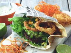 flexitarian mexi veggie burger recipe