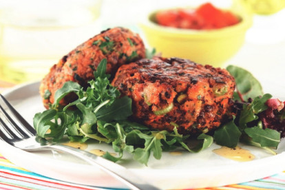 Quorn Meat Free Mince & Fruit Burgers