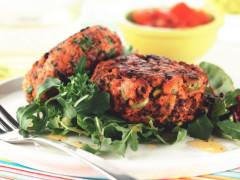 Quorn無肉肉碎水果漢堡
