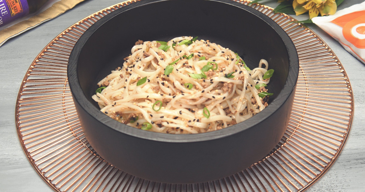 cold sesame noodles with quorn meatless grounds   quorn
