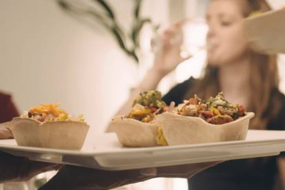 quorn mince & diced vegetable tacos vegetarian recipe