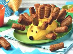 Quorn Cocktail Sausage Hedgehog