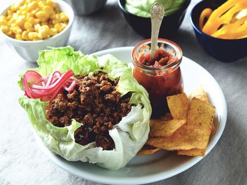Hälsosam sommartaco -recept
