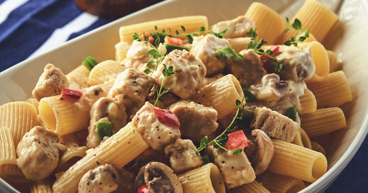 Creamy Pasta Alfredo Recipe Quorn