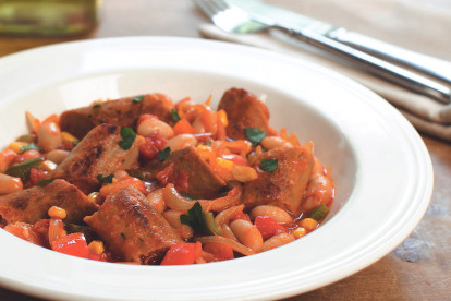 Recept voor Vegetarische SpaanseStoofschotel