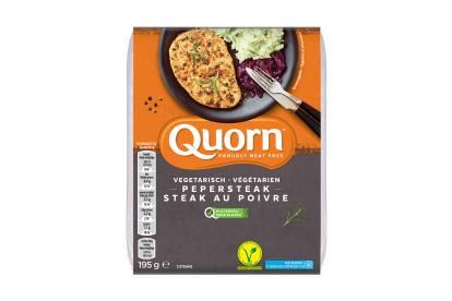 Steak au poivre végétarien de Quorn