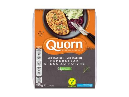 quorn vegetarian peppered steaks