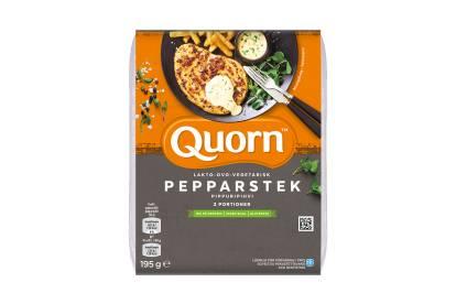 Quorn Ovo-Lakto-Vegetarisk Pepparstek