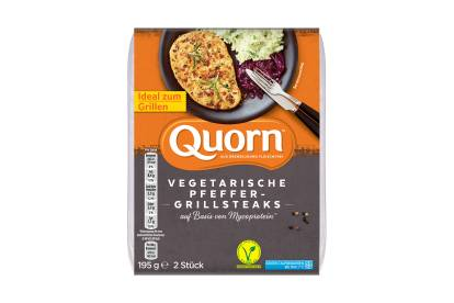 Quorn Vegetarisches Pfeffer-Grillsteak