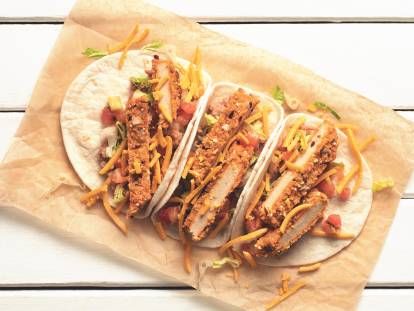 Quorn Vegan Spicy Tacos