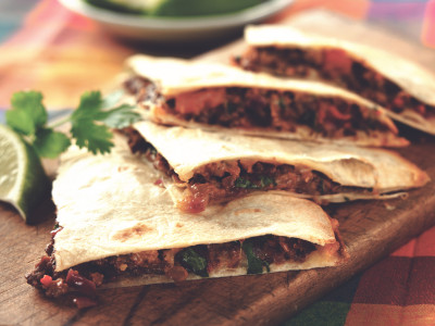 Quorn Meat Free Pieces Mexican Quesadillas