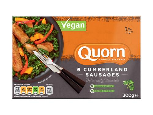 Quorn Vegan Cumberland Sausages