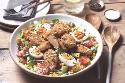 Quorn Buttermilk Bites Cobb Salad