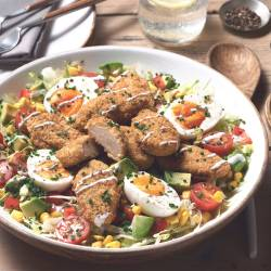 Quorn Buttermilk Bites Cobb Salad