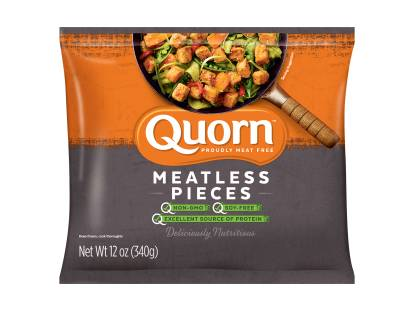 frozen healthy & meatless quorn pieces