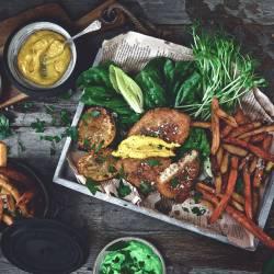 Vegan Fish & Chips Sharing Platter