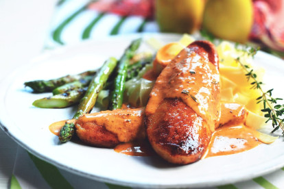 quorn fillets in red pesto sauce vegetarian recipe