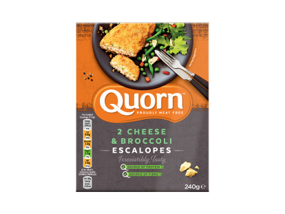 Quorn Cheese & Broccoli Escalopes