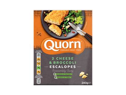 frozen meat free quorn cheese & broccoli escalopes