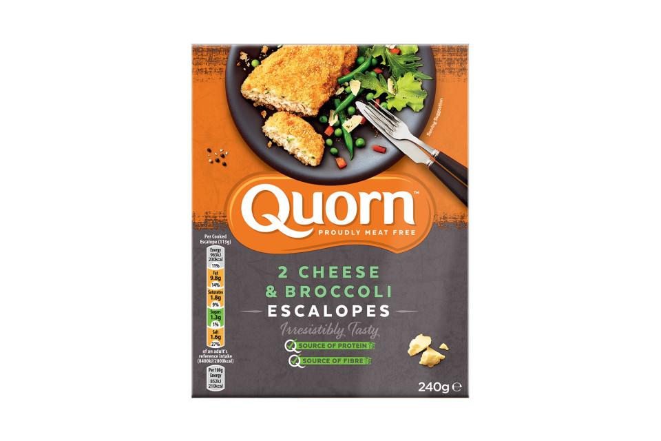 Quorn Cheese & Broccoli Escalopes
