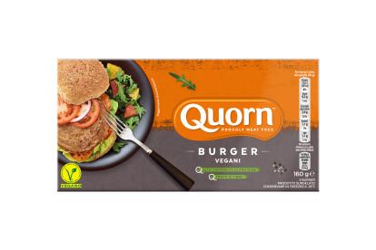 Burger Quorn vegani