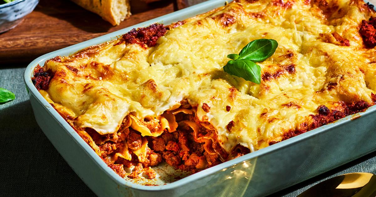 Vegetarian Lasagne Recipe Quorn