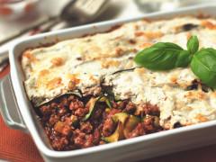 Courgette & Quorn Mince Lasagne Recipe