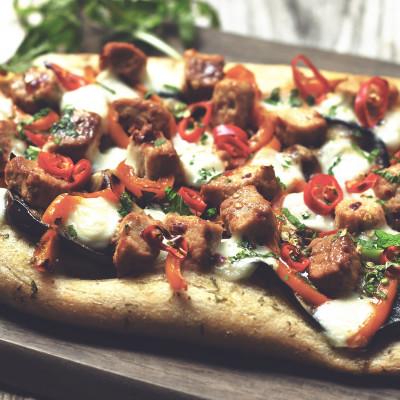 Easy Firecracker Flatbread Pizza Recipe