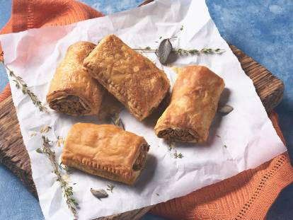 quorn vegan sausage roll recipe