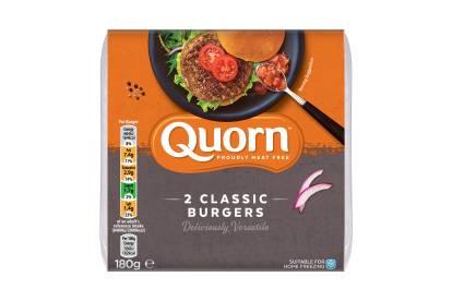 meat free quorn classic burger