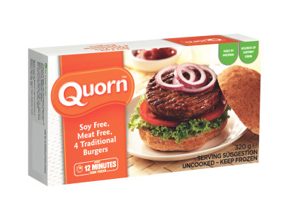 Soy Free, Meat Free Traditional Burgers