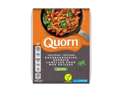 Quorn vegetarische gekruide roerbakreepjes