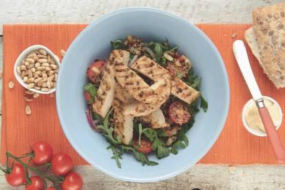 Quorn Pepparstek med Quinoasallad