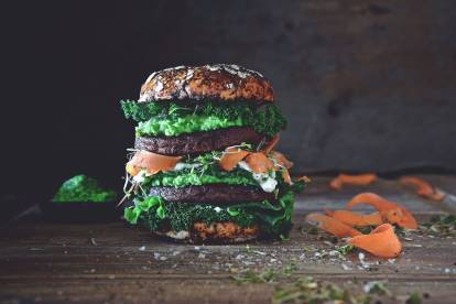 Vegan Gourmet Green Burger