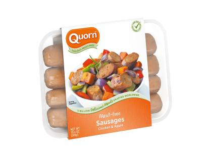 Meatless Chicken and Apple Sausage
