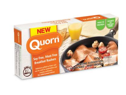 quorn vegetarian bacon rashers