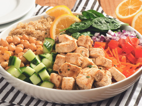 Quorn Meatless Chicken & Quinoa Power Bowl