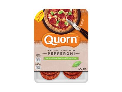 Quorn vegetarisk pepperoni