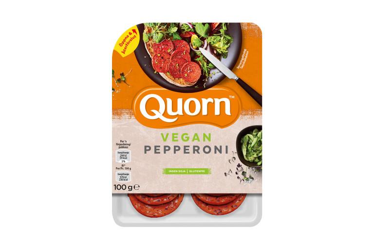 Quorn vegetarisk pepperoni
