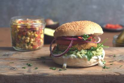 quorn vegan hot and spicy mexican veggie burger recipe