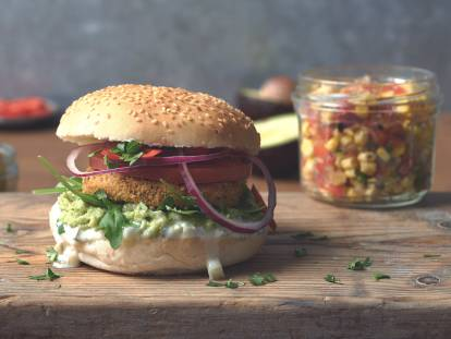 Quorn Vegan Hot and Spicy Mexican Burger
