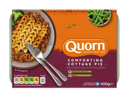 frozen quorn meat free cottage pie ready meal