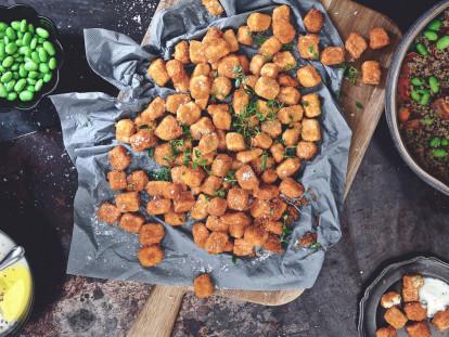 Vegetariska mininuggets med Quorn Bitar