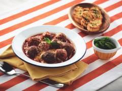Quorn Meat-Free Italian Meatballs Pasta in Marinara Sauce