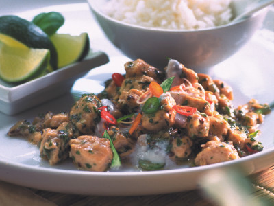 Quorn Meat Free Pieces Thai Curry