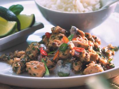 Thai Curry with Quorn Meat Free Pieces