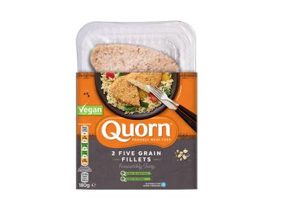 quorn vegan five grain fillets