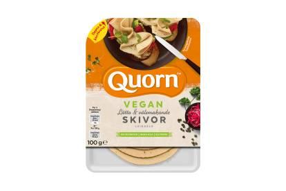 Quorn Veganskt Pålägg - Skivor Lätta & Välsmakande